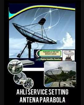 spesialis ahli pasang service setting antena parabola