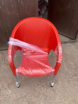 Sofa chairs available in plastic pvc, plastic tables available