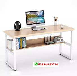 Perfect Homes Studio Augustine Dual Tone  Wood Study Table