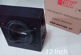 Bass Box Aktif Carman 12 Inch New - Car Audio