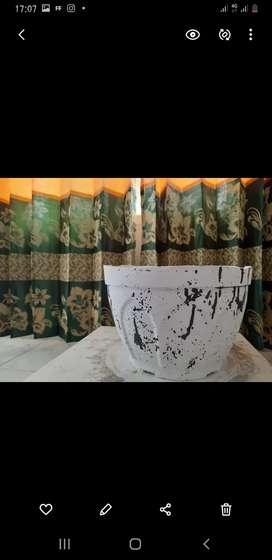 Pot bunga semen