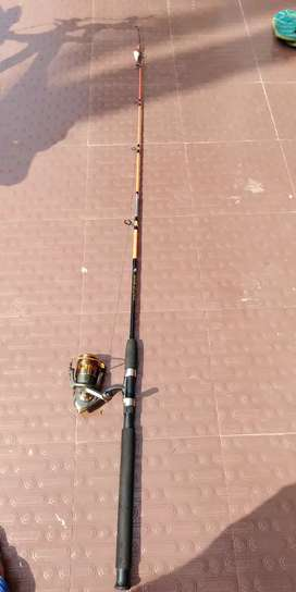 Fishing 8ball baring reel and ALSFA 1.80M rod