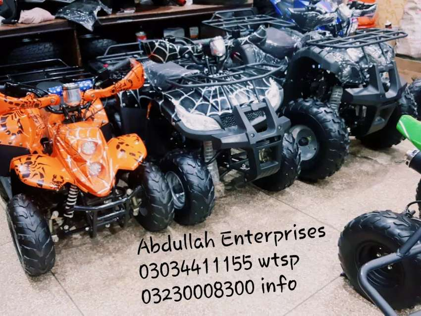 Fuel full variety atv 2020 quad 4 wheels delivery all pakistan