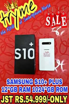 TRYME 12Gb RAM 1024Gb Rom S10+ SAMSUNG Full Kit Box