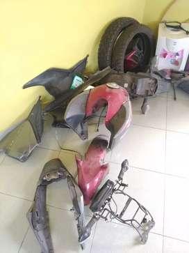 Set spare part Honda Megapro