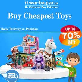Buy Cheapest Toys for your Kids - Home Delivery in Pakistan