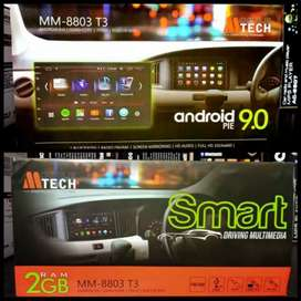 Headunit Android Mobile Tech MM8803T3 RAM 2GB Android 9.0 Include Pas