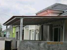 @73 canopy minimalis rangka tunggal atapnya alderon pvc bikin nyaman