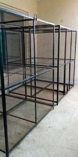 Two Iron Cages 6 feet Height 5 feet Width