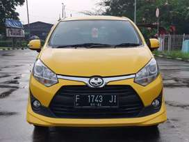 [KM 14RB] TOYOTA AGYA 1.2 TRD Sportivo Matic AT 2019 Kuning