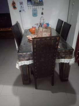 Dining Table , 6 Chairs