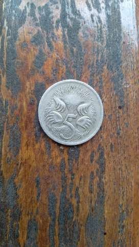 Koin 5 cent Australia