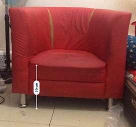 Sofa bekas one seat