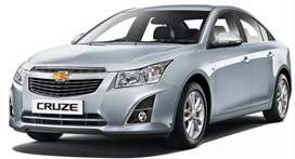 Wanted Chevrolet cruze