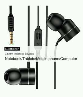 Baseus H04 Bass Sound Earphone In-Ear with Mic Hitam
