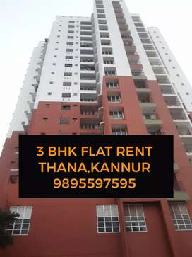 3 bhk flat for rent in thana, kannur