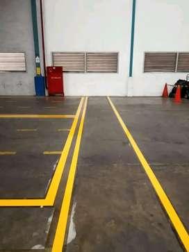 Epoxy lantai dan dak (epoxy coating)