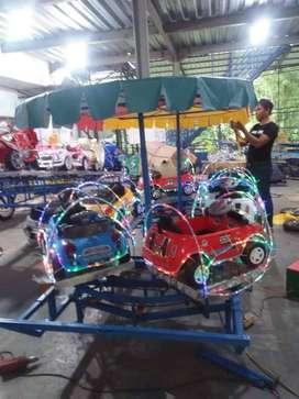full mobil mini kereta panggung odong odong fiber plat komplit