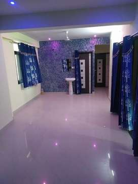 Its nice 3bhk semifurnished flat for bechloers family for rent