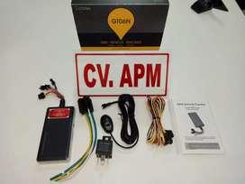 GPS tracker kecil alat pelacak mobil plus pasang di Tenjo