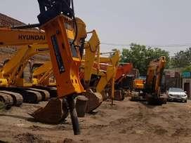 Hydraulic Rock Breakers for Kobelco SK 210 Excavators, Delhi.