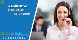 Walk-in Drive on 19th January for Non-Voice Customer Support Executive