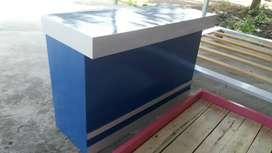 Meja kasir 120×45 tgi 80cm