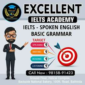 Teacher required for spoken English and IELTS
