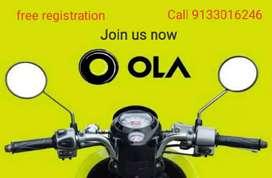 Ola bike pickup and drop off