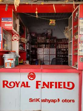 Royal Enfield Parts and ACCESSORIES shop for sale in ranchi on road