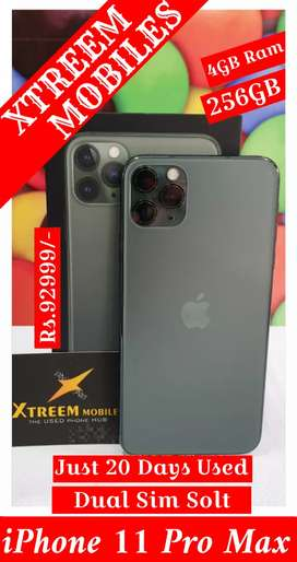 iPhone 11 Pro Max..Dual Sim Slot..Just 20 Days Used..