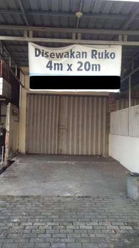 Disewakan Ruko 4 X 20 Meter di Tarakan