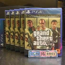 PS4 GTA V PREMIUM EDITION New Segel
