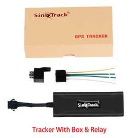 GPS tracker for car and bikes PTA APPROVED