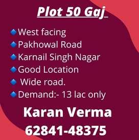 50 gaj plot good location