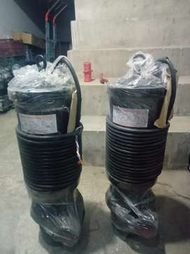 Submersible sludge, clean, high head, waste water pump monoblock pump