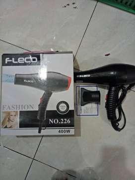 Hairdryer hair dryer pengering rambut fleco 400watt (jantung acc)