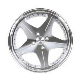 velg mobil HSR-Anambas-H5044-R16x75-875-H4x100-ET18-35-Silver-Machine-
