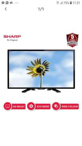 TV LED SHARP 24 INCH MODEL 24LE170i Murah CUMA 1,16JUTA