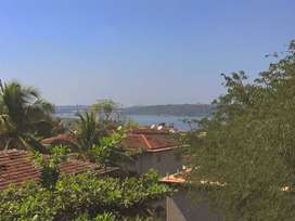 Fully Furnished 2 BHK Apartment in Ribandar with view of Mandovi River