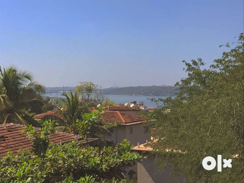 Fully Furnished 2 BHK Apartment in Ribandar with view of Mandovi River 0