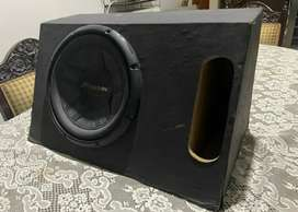 S4 woofer with petti box