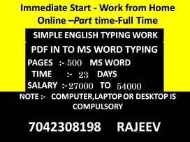 Nice Job Offer for All Students and Housewife Very Easy Work.