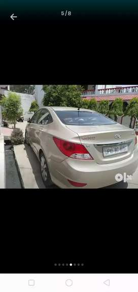 Verna fluidic 1.6 diesel top model