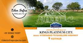 HMDA open plots to INVEST at KOTHUR, with all eminities Ready 2 occupy