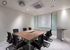 FULLY FURNISHED AC OFFICE SPACE 35 WORK STATION CONFERENCE ROOM