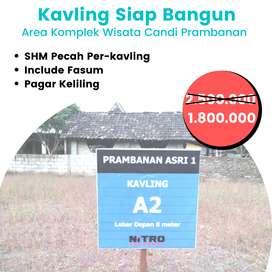 Tanah  Dijual Murah Sleman di Prambanan , SHM Pecah Unit