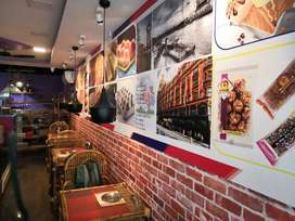 Fully furnished bakery and confectionery plus chat, pizza and burger