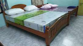 New family cot and mattresses home delivery