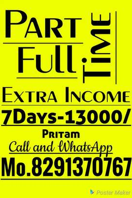 Home based jobs Weekly Salary 13000